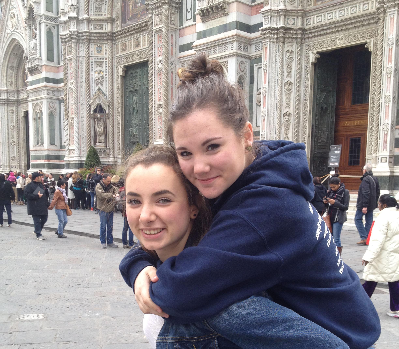 Europe trip girls
