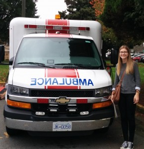 Gracyn and Ambulance