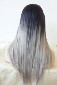 black ombre hair use