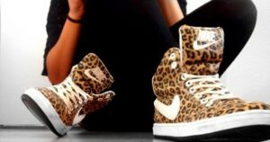cheetah print sneakers use
